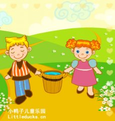 英文儿歌flash Jack and Jill