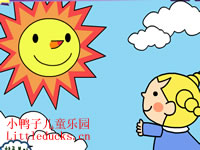 英文儿歌OH Mr. Sun flash